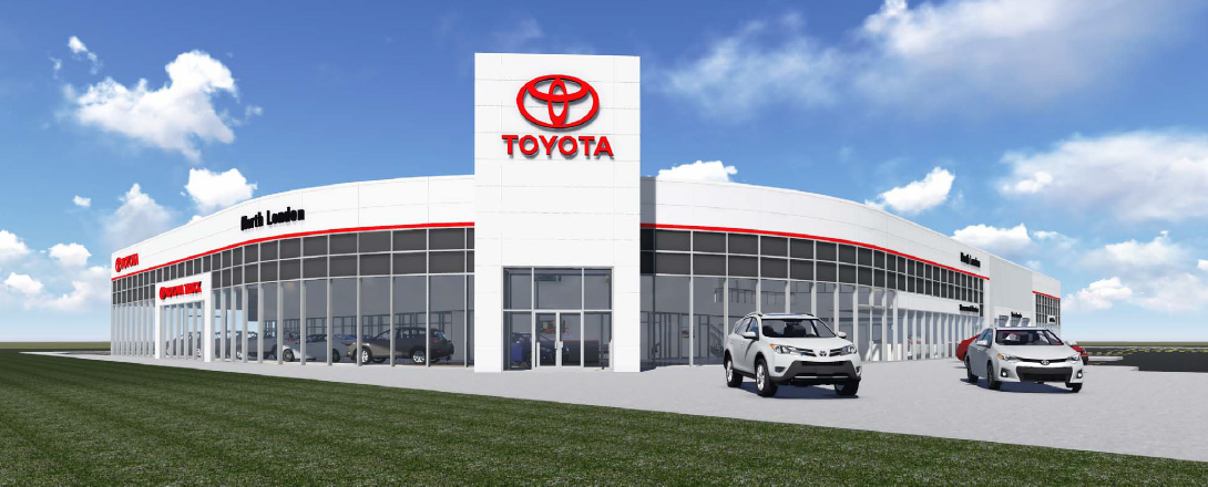 Competition Toyota new dealership North London Toyota