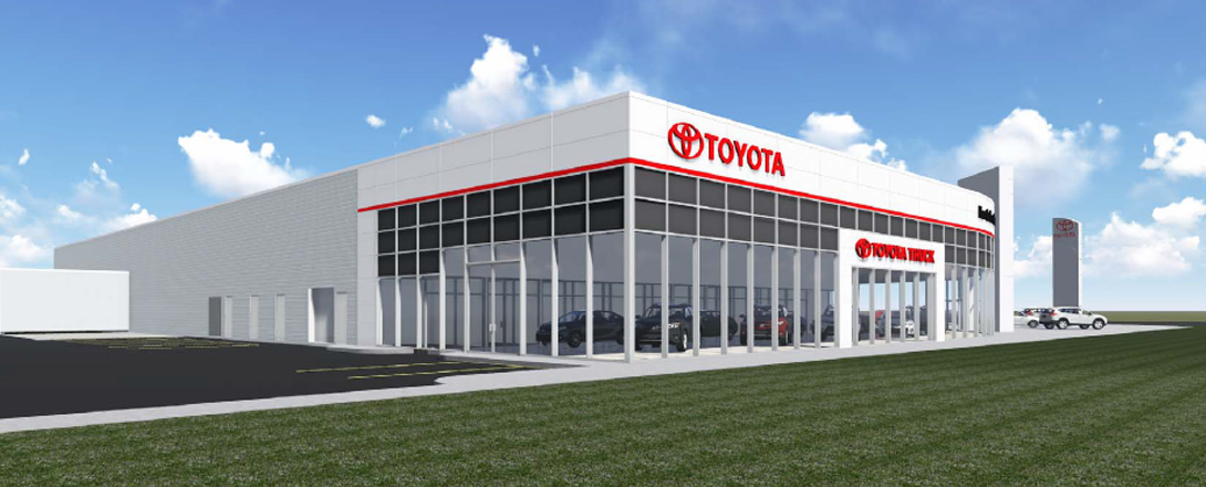 North London Toyota new dealership