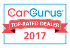 Car Gurus Top rated dealer for 2017
